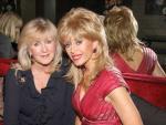 Liz Brewer with host Sally Farmiloe