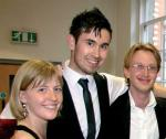 Lizzie Telford, Adam Budhram & Alex Thomson