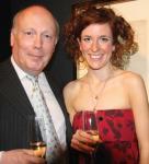 Julian Fellowes & friend
